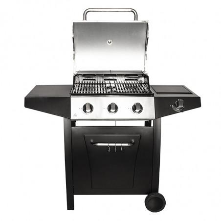 Barbecue gaz avec couvercle de cuisson modèle BROOKLYN