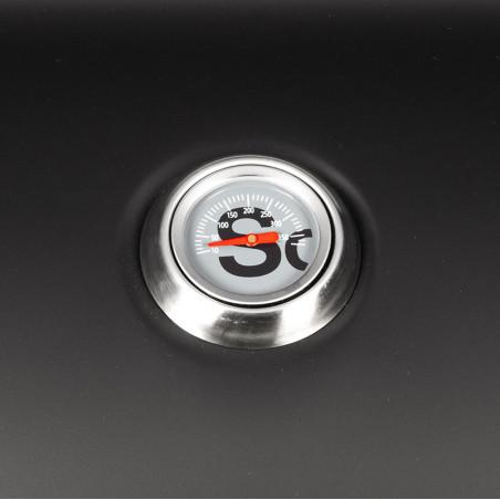 Thermomètre de cuisson du barbecue charbon de bois