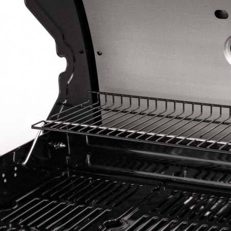 Grille de maintien au chaud du barbecue gaz