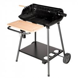 Barbecue charbon de bois avec foyer vertical