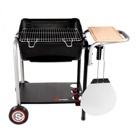 Barbecue charbon de bois modèle Roma