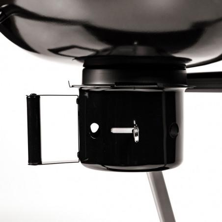Cendrier du barbecue charbon de bois