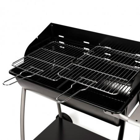 Grilles de cuisson ajustables du barbecue charbon de bois