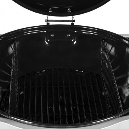 Grilles foyères pour cuisson verticale du barbecue charbon de bois