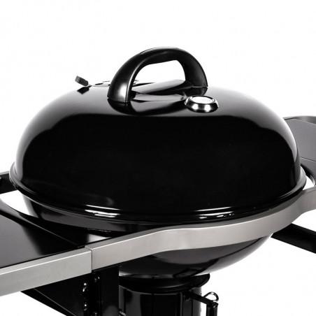 Couvercle de cuisson du barbecue charbon de bois