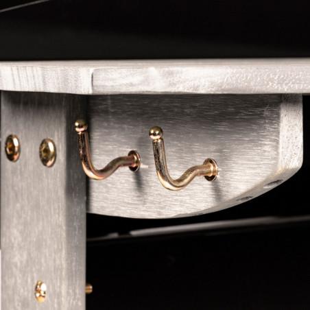 Crochets porte-accessoires de la plancha gaz