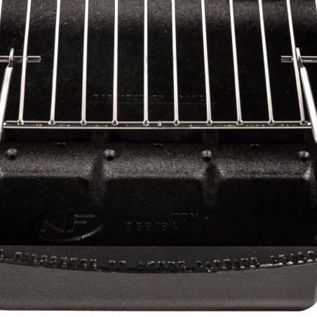 Canal diffuseur d'air du barbecue charbon de bois