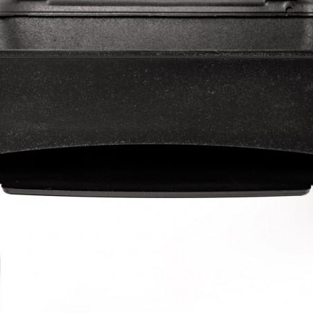 Cuve avec four intégré en fonte du barbecue charbon de bois