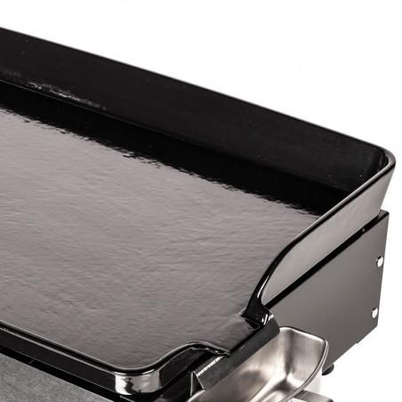 Plaque de cuisson en fonte émaillée de la plancha gaz