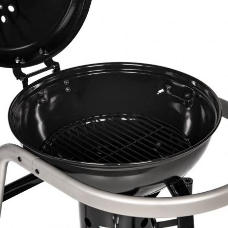 Grille foyère du barbecue charbon de bois