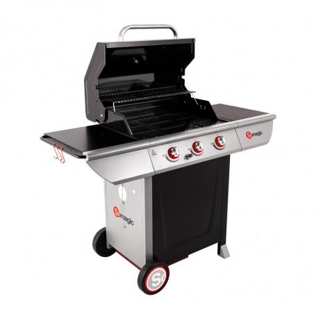 Barbecue gaz cuisson grill et au four