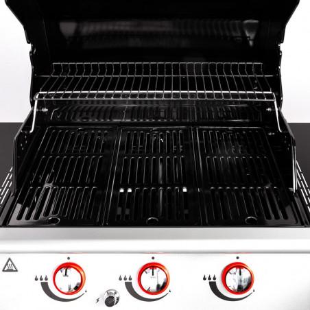 Grilles de cuisson du barbecue gaz