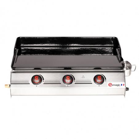 Plancha gaz modèle So Premium 3 feux