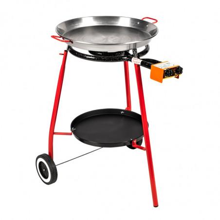 Poêle à paëlla gaz cuisson de paëlla
