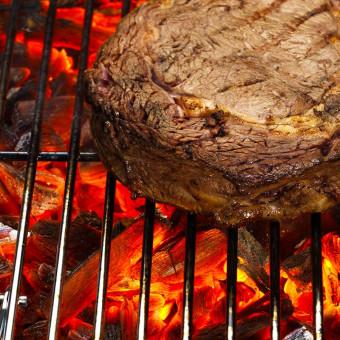 Le Barbecue à Charbon avec cuve en Acier