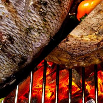 Barbecues à charbon et à gaz au choix !