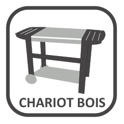 Chariot bois