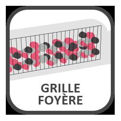 Grille foyère