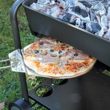 Cuisson de pizza